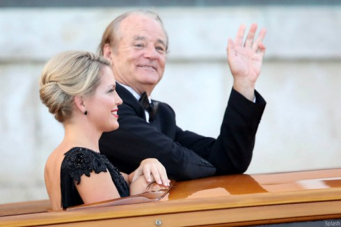 Bill Murray at George Clooney's Wedding