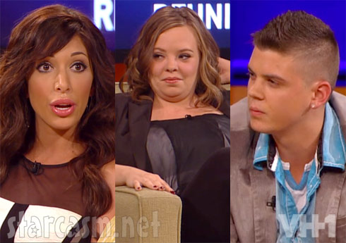 Couples Therapy Reunion Farrah Catelynn Lowell and Tyler Baltierra - click to enlarge