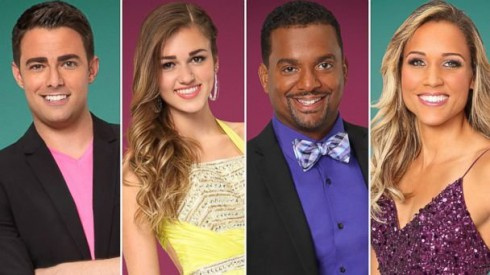 Dancing With the Stars Cast Season 19
