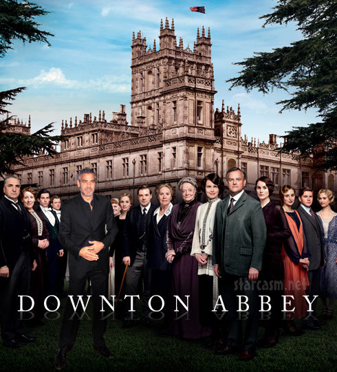Downton Abbey George Clooney - click to enlarge