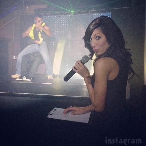 Farrah Abraham hostin peep show all male revue