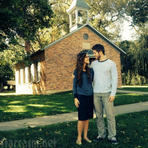 Jessa Duggar and Ben Seewald in Ohio