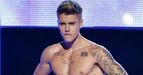 Justin Bieber Strip