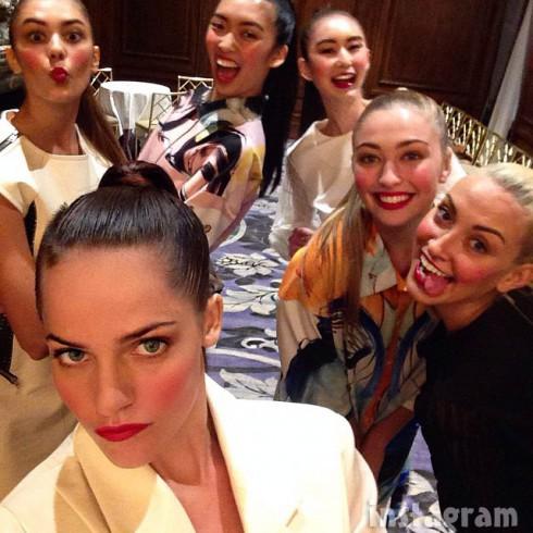 Kate Stoltz Fashion 4 Development MBFW 2014 selfie