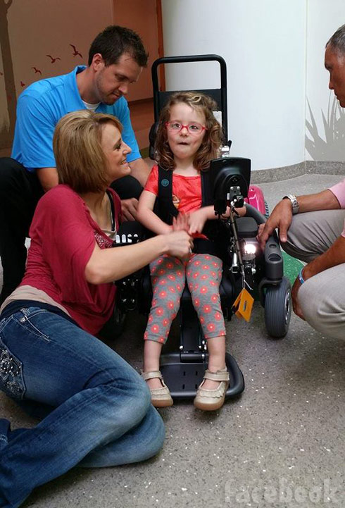 Teen Mom 2 Leah Ali new wheelchair