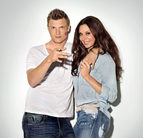 Nick Carter - Wife Lauren Kitt - I Heart Nick Carter