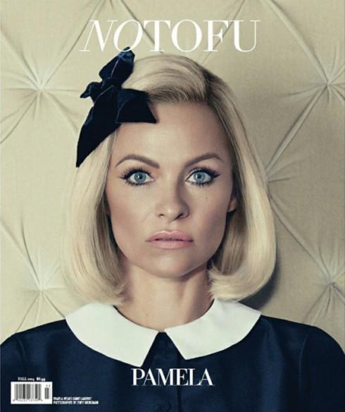 No Tofu Magazine - Pamela Anderson - Fall 2014