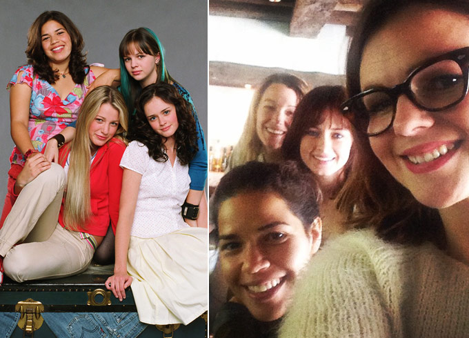 Sisterhood of the Traveling Pants then and now