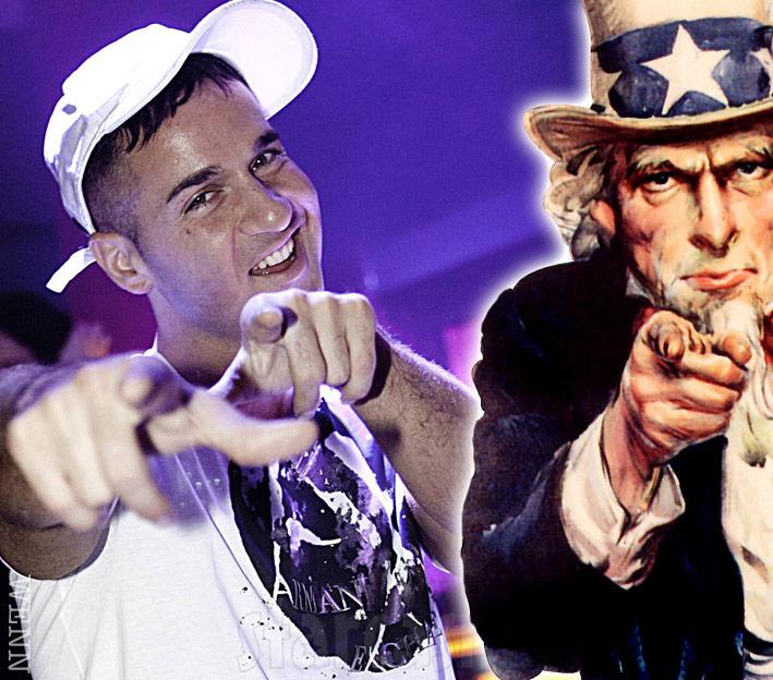 Mike Sorrentino Uncle Sam