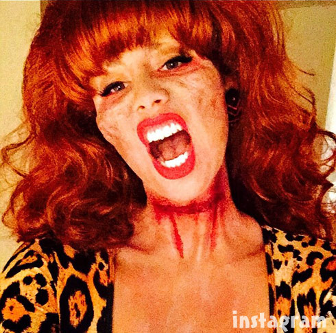 Amber Rose zombie Peg Bundy