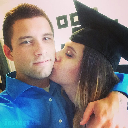 Ashley Salazar Justin Lane graduation