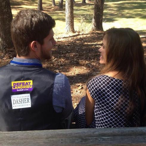 Ben Seewald and Jessa Duggar Campaign Trail