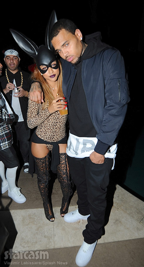 Chris Brown Karrueche Tran October 2014