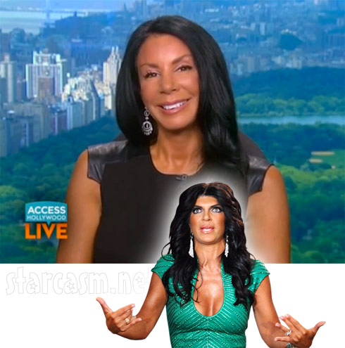 Danielle Staub Access Hollywood Live Teresa Giudice interview - click to enlarge