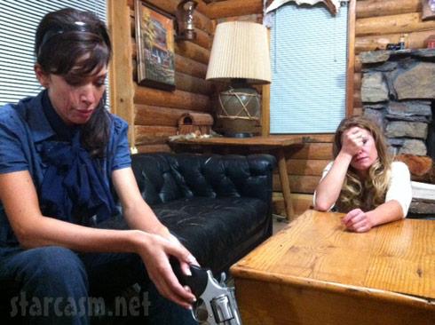 Farrah Abraham Axeman Overkill movie with a gun - click to enlarge