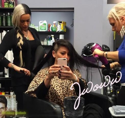 JWoww Hair Transformation