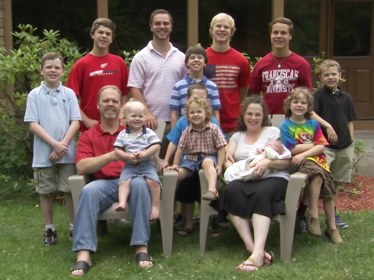 Jay And Kateri Schwandt Expecting 13th Baby After 12 Boys