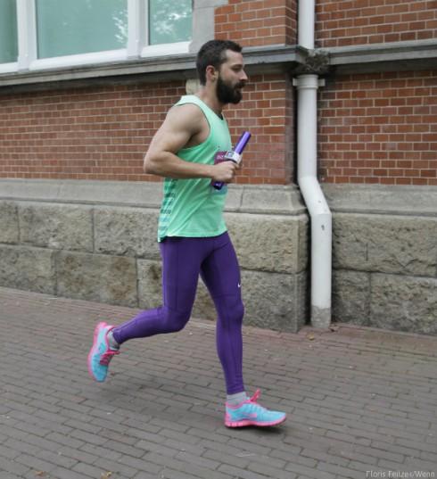 Shia LaBeouf Running