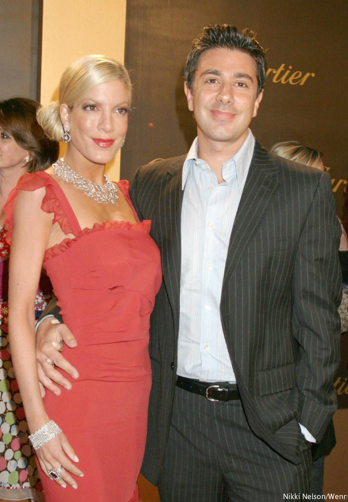PHOTOS Who is Tori Spelling\'s first husband, Charlie Shanian? Where ...