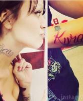 Tosca Yeager Kyra tattoo