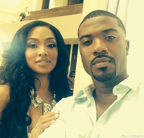 Who is ray j dating princess