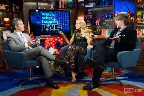 Gretchen Rossi on WWHL