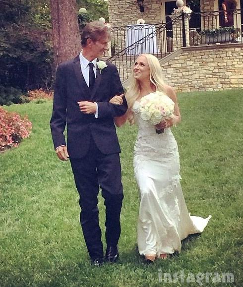Kim Richards daughter Brooke Brinson wedding dad Monty Brinson