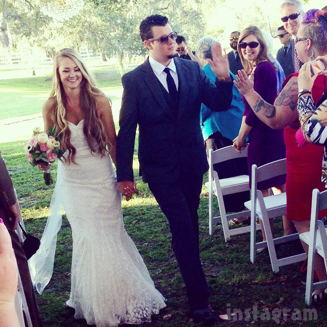 Epic Ink Caroline Russell and Jeffrey Wortham married