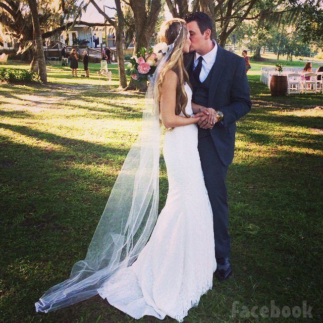 Epic Ink Jeffrey Wortham and Caroline Russell wedding photo