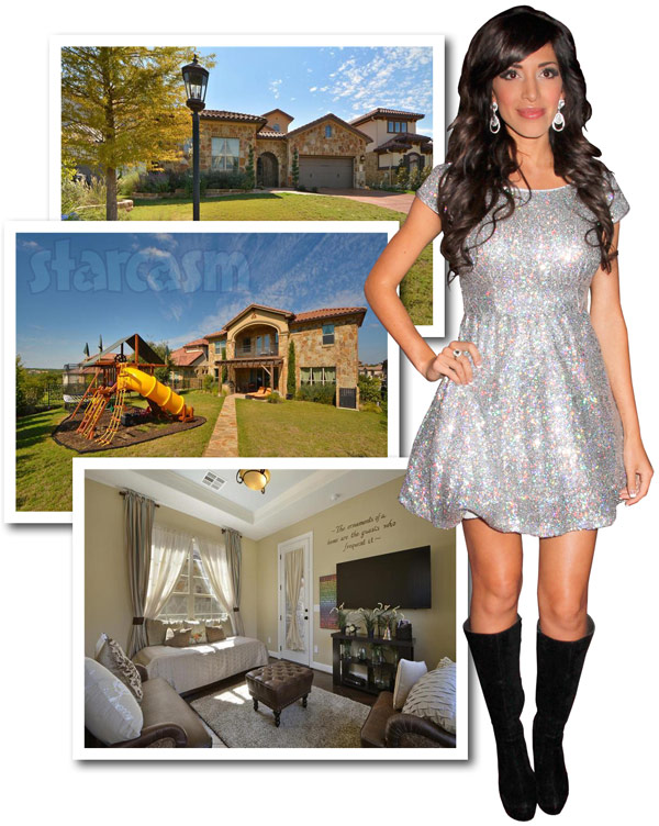 Farrah Abraham is selling her house in Austin Texas photos