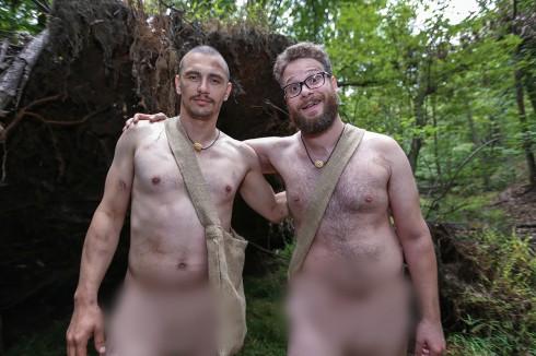 James Franco and Seth Rogen Naked and Afraid