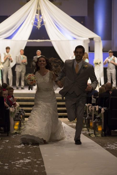 Jill Dillard Wedding Running From Altar