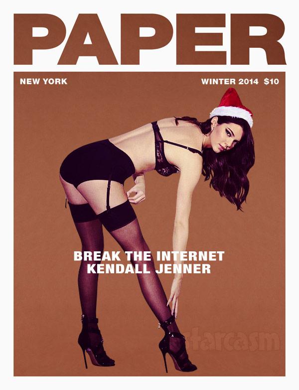 Kendall Jenner Paper magazine Break the Internet cover