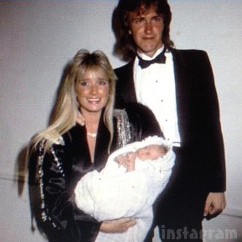 Kim Richards Monty Brinson newborn daughter Brooke Brinson