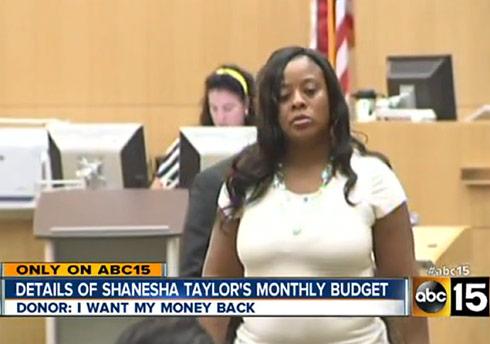 Shanesha Taylor court