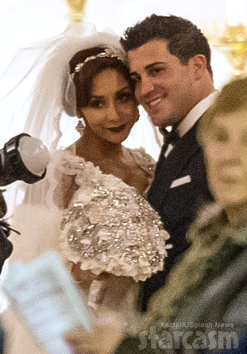 Snooki and Jionni wedding photo