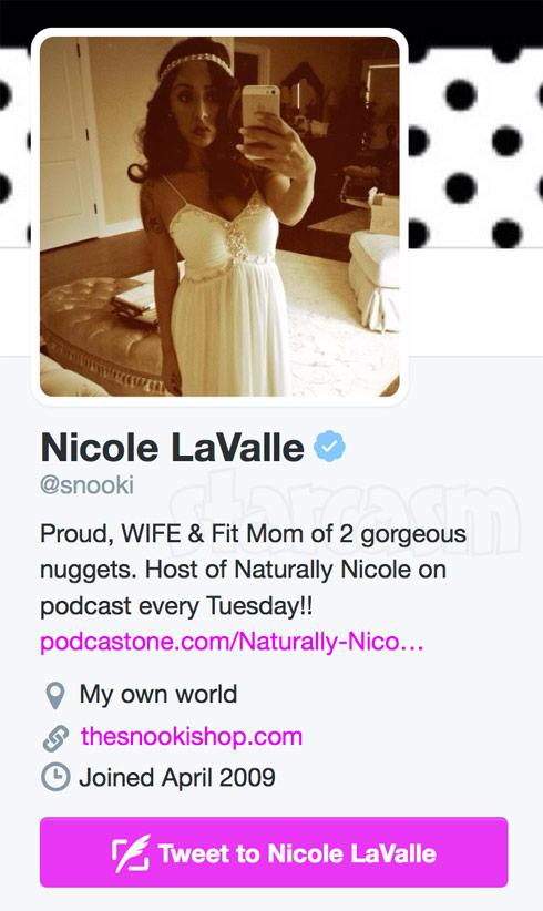Snooki LaValle Twitter