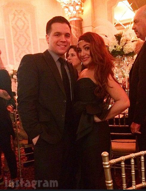 Snooki wedding Deena Cortese Chris Buckner