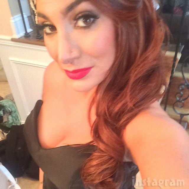 Snooki wedding Deena Cortese sexy selfie