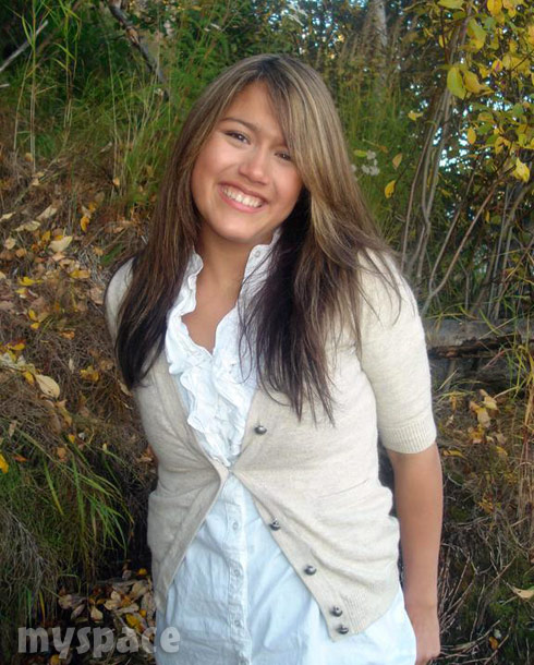 Slednecks Tosca Yeager throwback MySpace photo before the tattoos