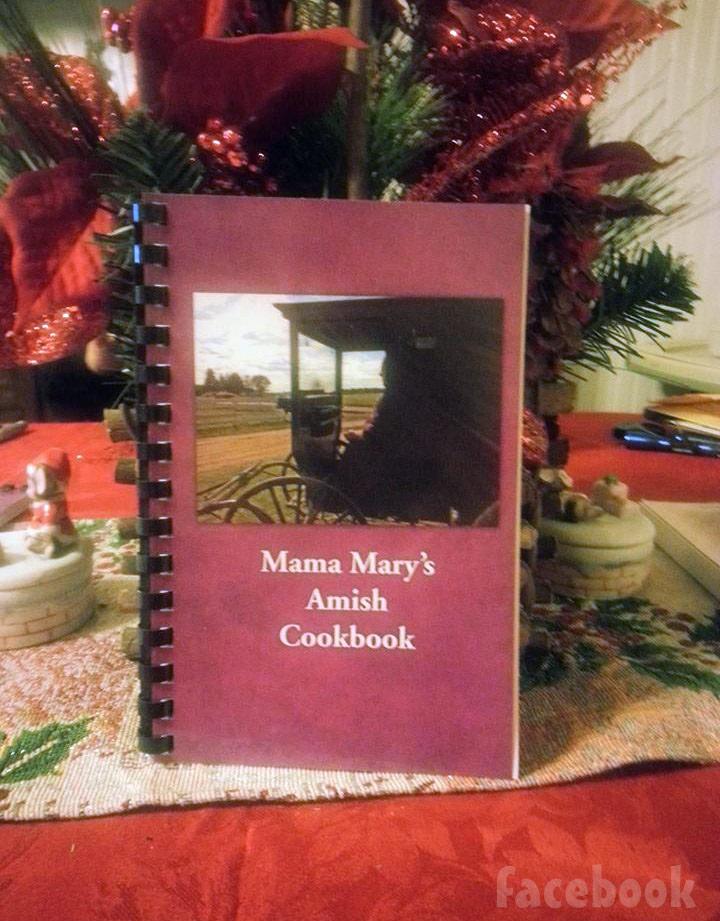 Breaking Amish Mama Mary's Amish cookbook