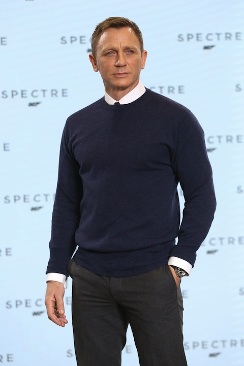 The launch of new James Bond film, Spectre  - Arrivals