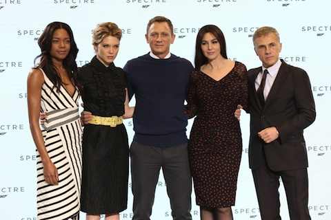 The launch of the new James Bond film, 'Spectre' - Arrivals