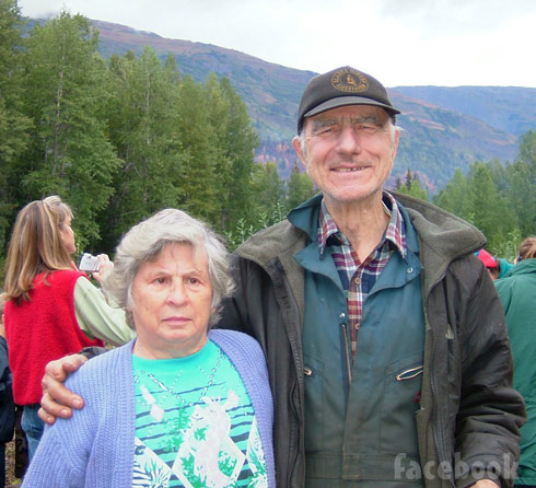 Gold Rush John Schnabel and his wife