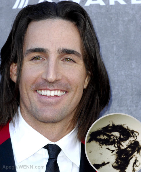 photos jake owen before and after his hair cut