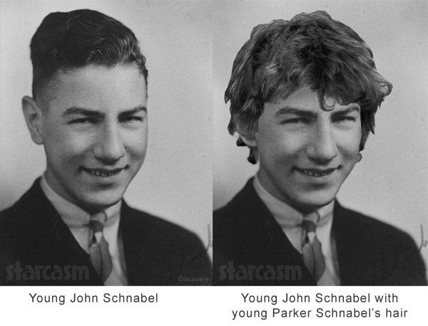 Gold Rush Grandpa Joohn Schnabel with Parker's hair