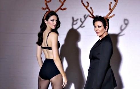 Love Magazine Advent Calendar Kris Jenner