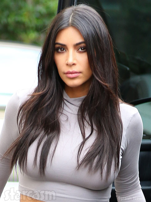 Kim Kardashian paparazzi glamor