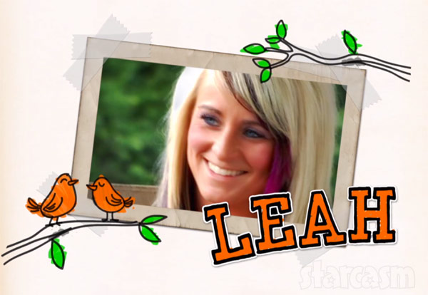 Leah Calvert Teen Mom 2 scrapbook