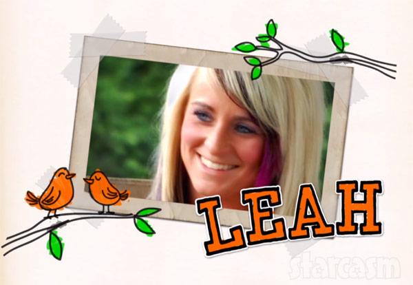 Leah Calvert Teen Mom 2 scrapbook